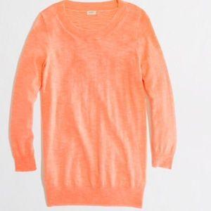 J. Crew neon Charley sweater